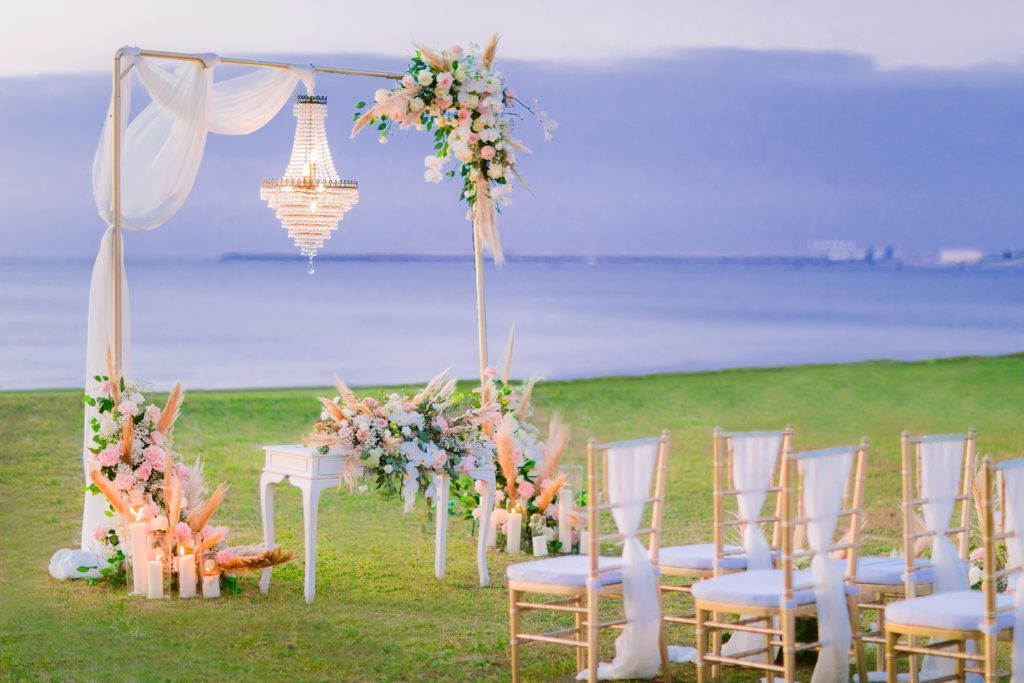Front beach Bali wedding - Intercontinental wedding