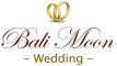 Bali Moon Wedding Logo White 107 x 60